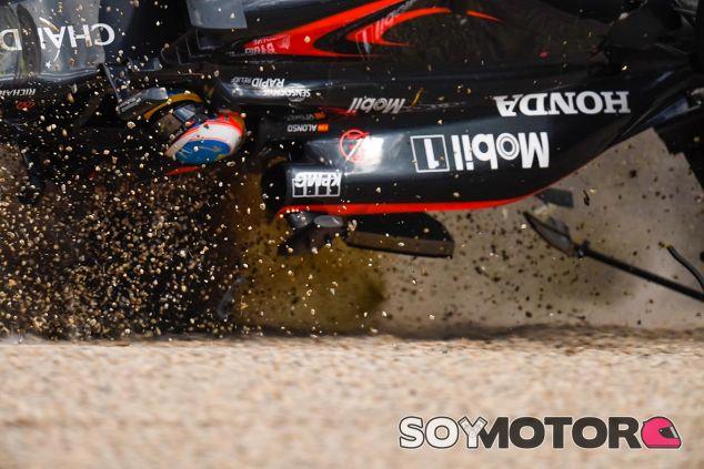 Accidente de Fernando Alonso en Australia - LaF1
