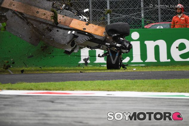 Accidente de Marcus Ericsson - SoyMotor.com