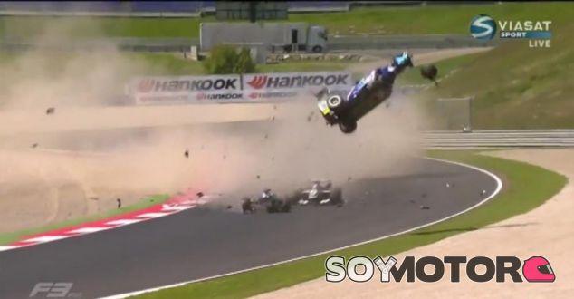 Las palabras de Wolff llegan tras el fortísimo accidente en la F3 este fin de semana - LaF1