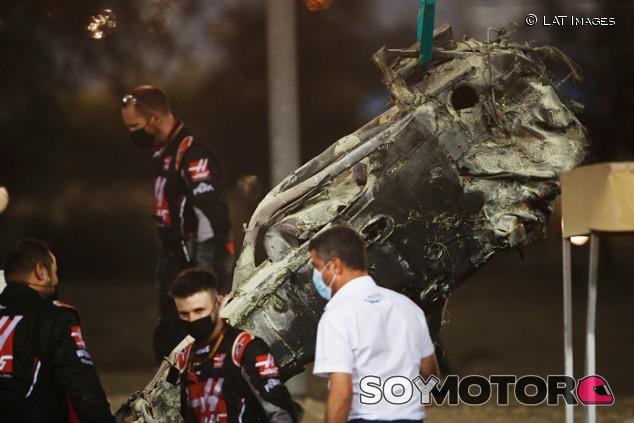 La investigación del accidente de Grosjean durará dos meses, estima la FIA - SoyMotor.com