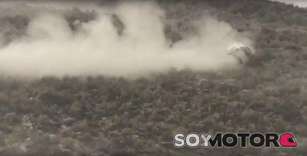Accidente Latvala Toyota Yaris WRC Almería - SoyMotor.com