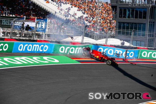 Accidente de Sainz en Libres 3, ¿llegará a la clasificación? - SoyMotor.com