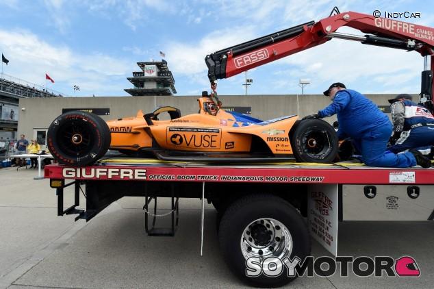 Chevrolet mantiene el dominio; Alonso cata el muro de Indianápolis - SoyMotor.com