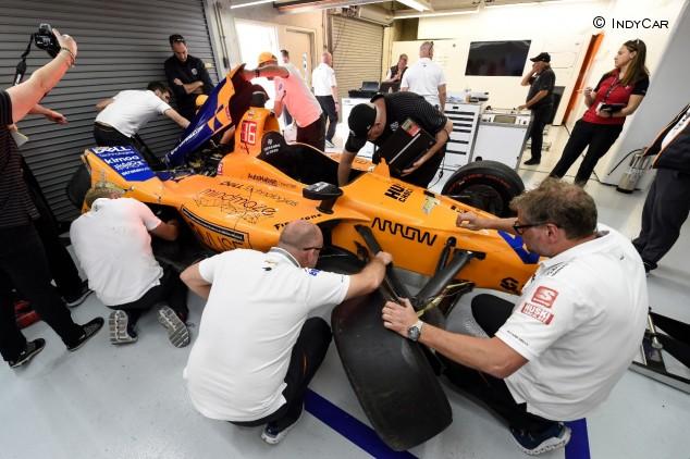 F1 por la mañana: Alonso se encuentra con el muro de Indianápolis – SoyMotor.com
