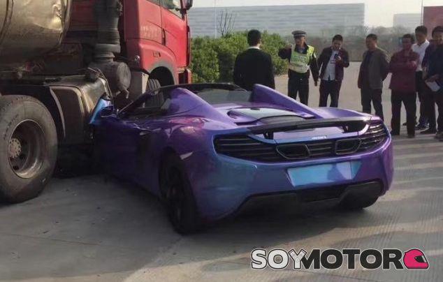 Ésta no es forma de tratar tu McLaren - SoyMotor.com