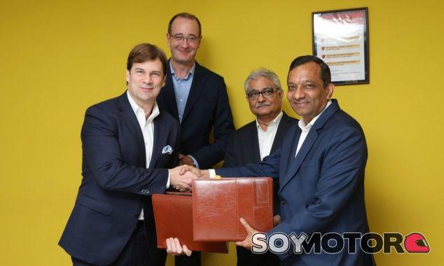 Ford y Mahindra se unen para el desarrollo de un SUV mediano - SoyMotor.com