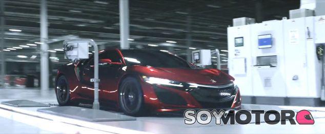 Acura NSX 2017 - SoyMotor.com