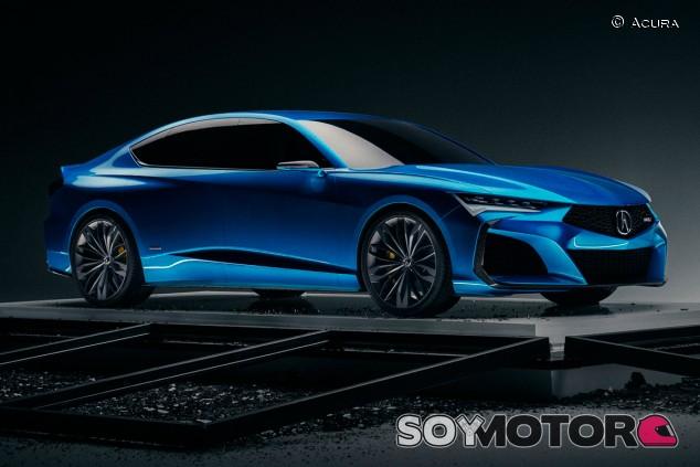 Acura Type S: un concept para recuperar el mercado de las grandes berlinas - SoyMotor.com