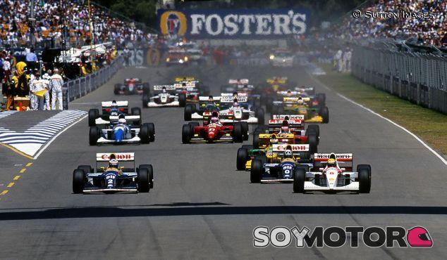 Salida del GP de Australia 1994 - SoyMotor