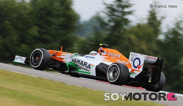 Adrian Sutil en el GP de Alemania 2013