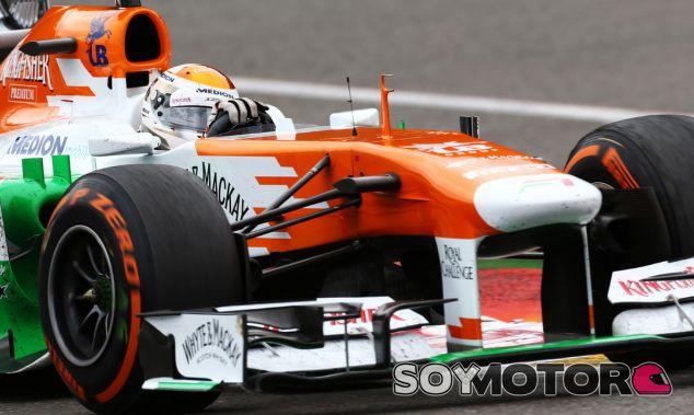 Adrian Sutil en el GP de Bélgica F1 2013 - LaF1