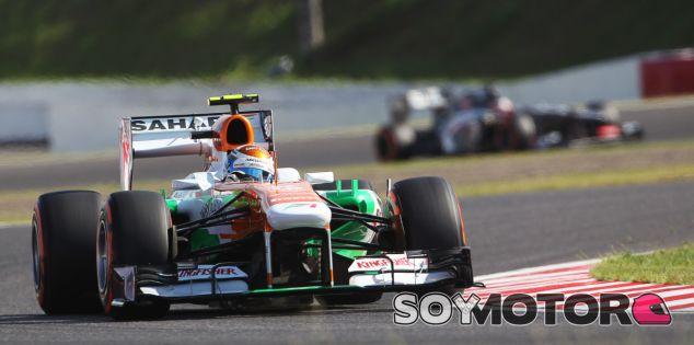 Adrian Sutil hoy en Suzuka - LaF1