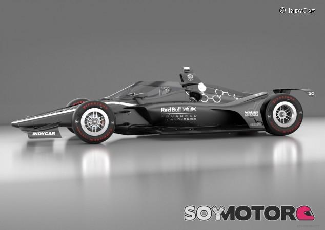 Red Bull se alía con IndyCar para introducir el aeroscreen en 2020 - SoyMotor.com