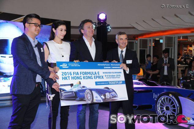 La Fórmula E comenzará en octubre en Hong Kong - LaF1