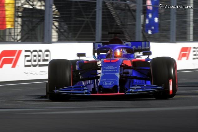 Alexander Albon en el juego F1 2019 - SoyMotor