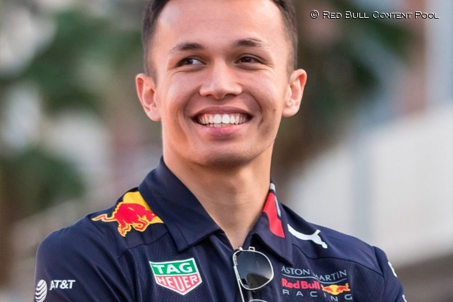 OFICIAL: Albon será el compañero de Verstappen en 2020 - SoyMotor.com