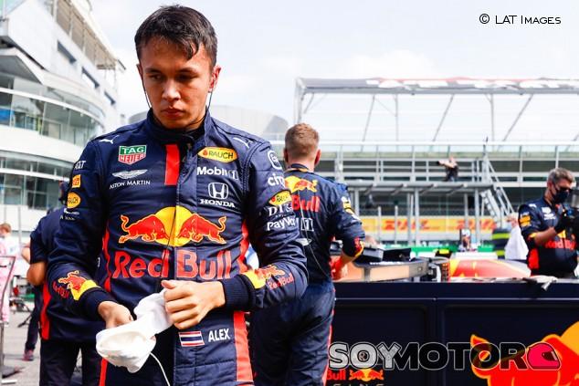 El día que un fan de Vettel quiso pegar a Albon