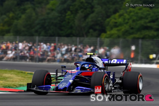 Toro Rosso en el GP de Gran Bretaña F1 2019: Sábado - SoyMotor.com