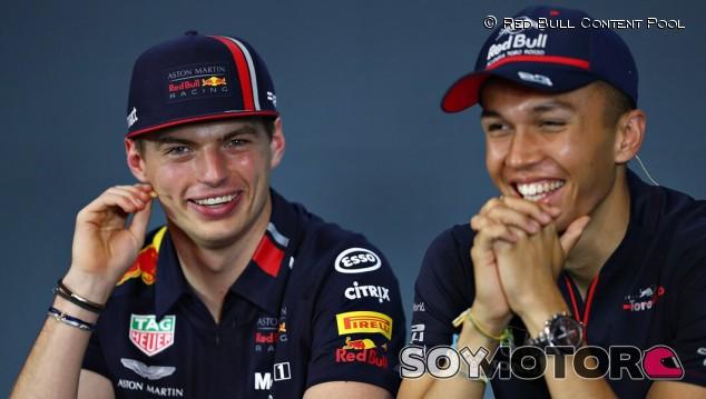 Red Bull intercambia a Albon por Gasly a partir de Bélgica - SoyMotor.com