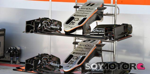 Hasta diez alerones diferentes cree Force India que usará este 2017 - SoyMotor.com