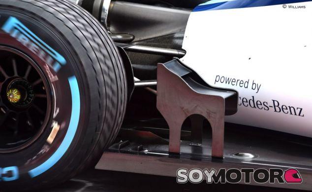 El apéndice aerodinámico que estrenó Williams - LaF1.es
