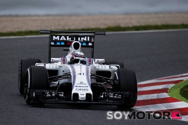 Alex Lynn en los test post GP de España - LaF1