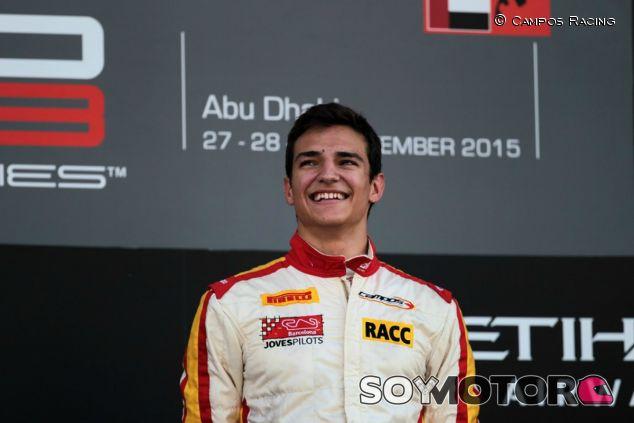 Alex Palou seguirá en la GP3 - LaF1