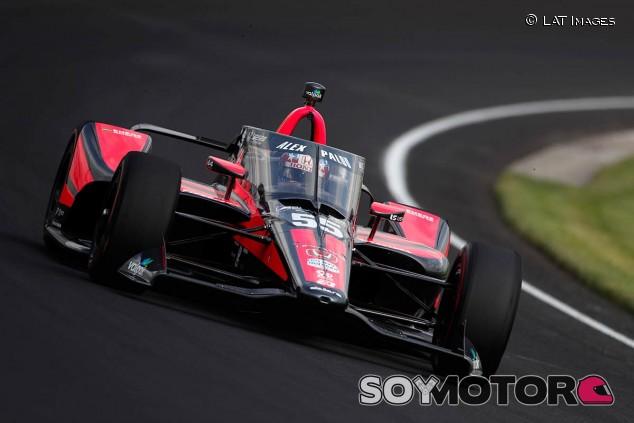Alex Palou en Indianápolis - SoyMotor.com