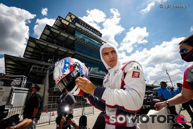 Alex Palou en las 500 Millas de Indianápolis 2020 - SoyMotor.com