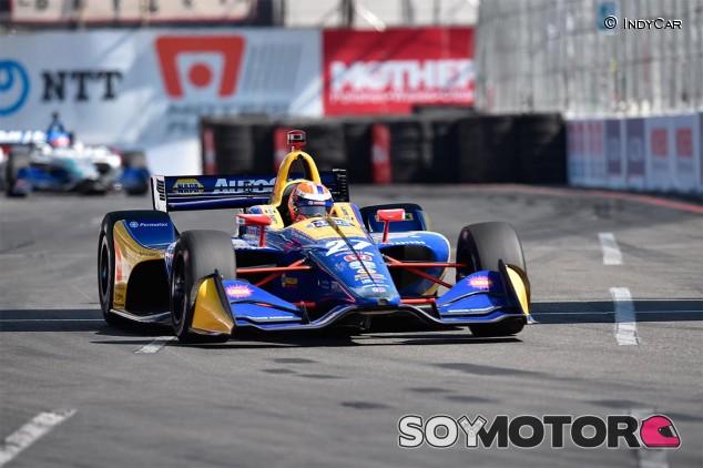 Alexander Rossi en Long Beach - SoyMotor