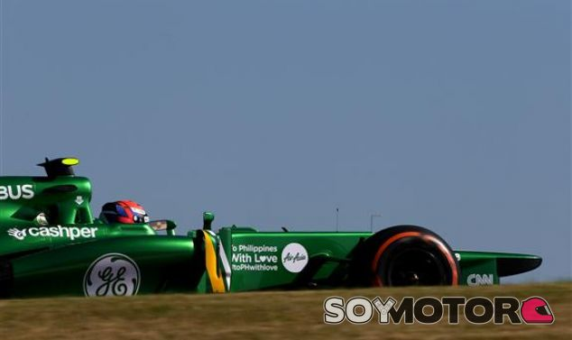 Alexander Rossi durante los Libres 1 del GP de Estados Unidos - LaF1