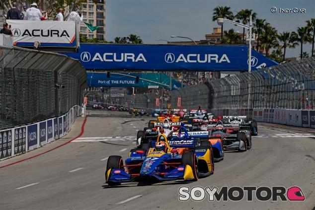 Salida del GP de Long Beach de IndyCar - SoyMotor