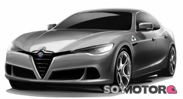 Render del Alfa Romeo Alfetta realizado por RennaDesign - SoyMotor.com