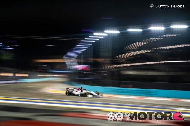 Alfa Romeo en el GP de Singapur F1 2019: Viernes - SoyMotor.com