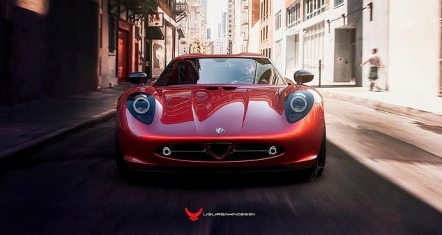 Nivola, el Alfa Romeo 33 Stradale con base de 4C - SoyMotor.com