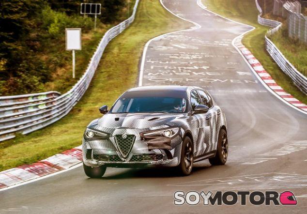 Alfa Romeo Stelvio QV en Nürburgring - SoyMotor.com