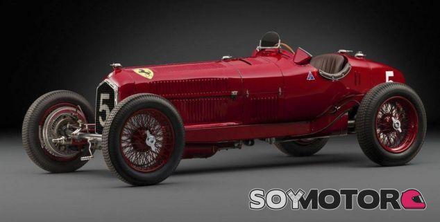 Alfa Romeo Tipo B P3 Scuderia Ferrari - SoyMotor.com