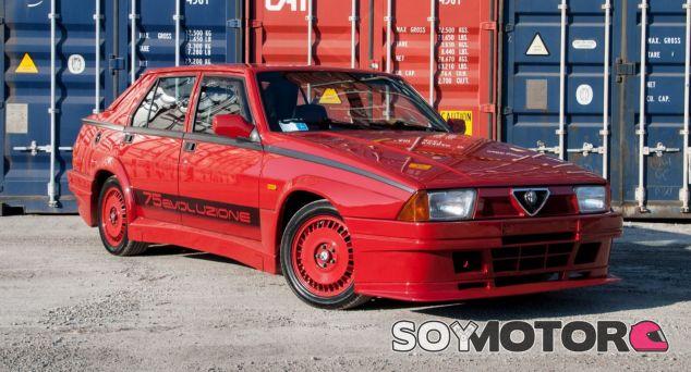 Alfa Romeo 75 Turbo Evoluzione - SoyMotor.com