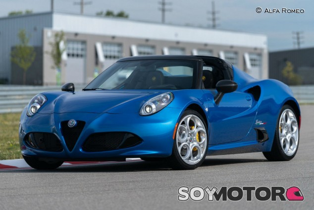 Alfa Romeo 4C Spider Italia - SoyMotor.com