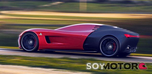 Alfa Romeo C18 Concept -SoyMotor