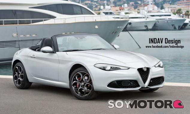Alfa Romeo Spider - IndavDesig