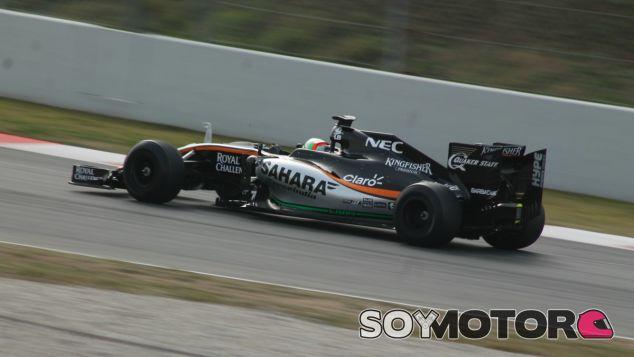 Alfonso Celis, a los mandos del VJM09 - LaF1