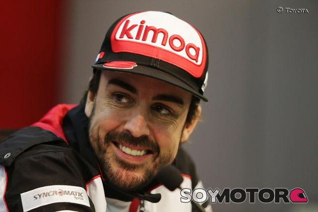 Fernando Alonso en las 6 Horas de Shanghái - SoyMotor