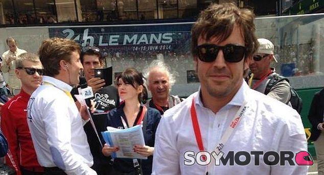 Alonso quiere correr las 24 horas de Le Mans en 2015