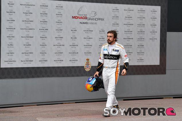 Fernando Alonso abandona en Mónaco - SoyMotor