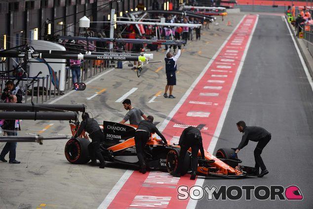 McLaren en el GP de Gran Bretaña F1 2017: Domingo - SoyMotor.com