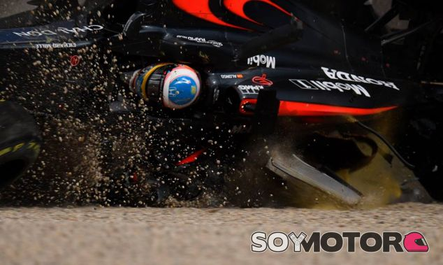 Accidente de Fernando Alonso en Australia - LaF1