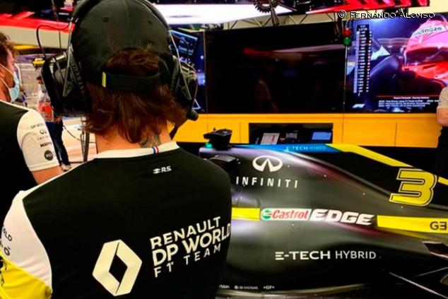Sigue la fase de integración y adaptación de Alonso en Alpine - SoyMotor.com