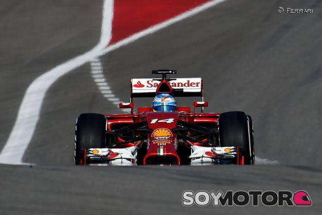 Fernando Alonso durante la clasificación de Austin - LaF1