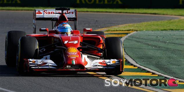 Fernando Alonso durante el Gran Premio de Australia - LaF1